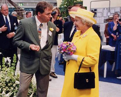 John McKenna HRH Queen Elizabrth the second 2nd II